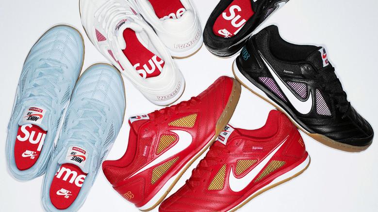 3ca59d1ecb0 Kuigi legendaarse New Yorgi tänavamoebrändi Supreme'i ja Nike koostöös  valminud kollektsioon tuli müüki nädalakese eest 30. augustil, antakse  välja uus sats ...